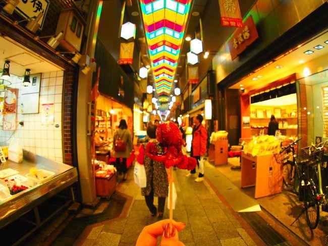 京都 Kyoto,japan 河原町 錦市場