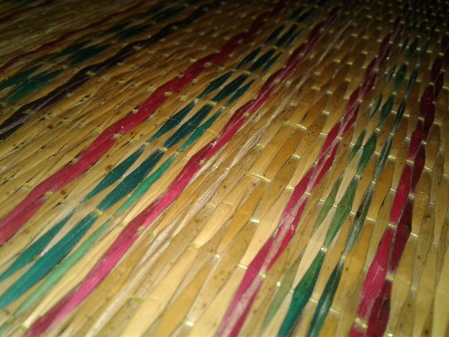 Natural mats, thai people, background Backgrounds Full Frame Art And Craft Multi Colored Textured  Indoors  Abstract