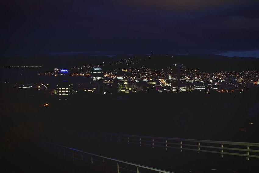 Wellington Wellington  New Zealand Night Nightphotography Night Lights Travel Photography Traveling Discover Your City Enjoying Life