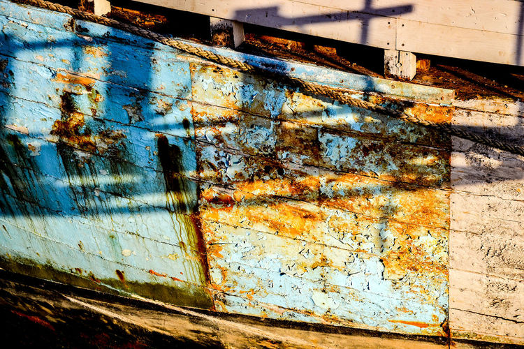 Heybridge Basin, Chelmer & Blackwater Navigation near Maldon, Essex. Chelmer & Blackwater Navigation Heybridge Basin, Essex Transportation Weathered Close-up Man-made Nautical Vessel No People Outdoors Peeling Paint Rusty