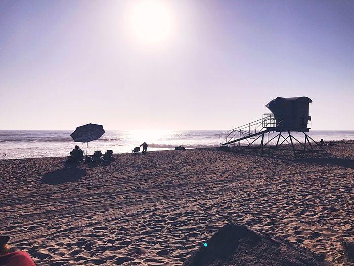 Waitingforsunset Beauty In Nature Beach Life