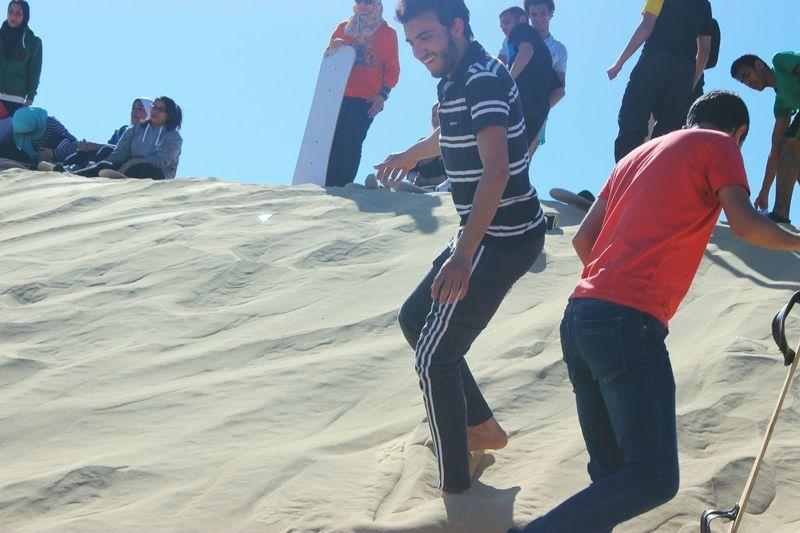 My Hobby Sandboarding Sand Sahara That's Me