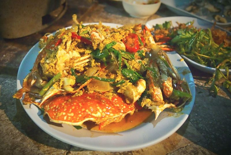 Spotted In Thailand Thai Food Thai Foods Crap Thai Foodtime Foodmarket Thai Cuisine Thai Dish