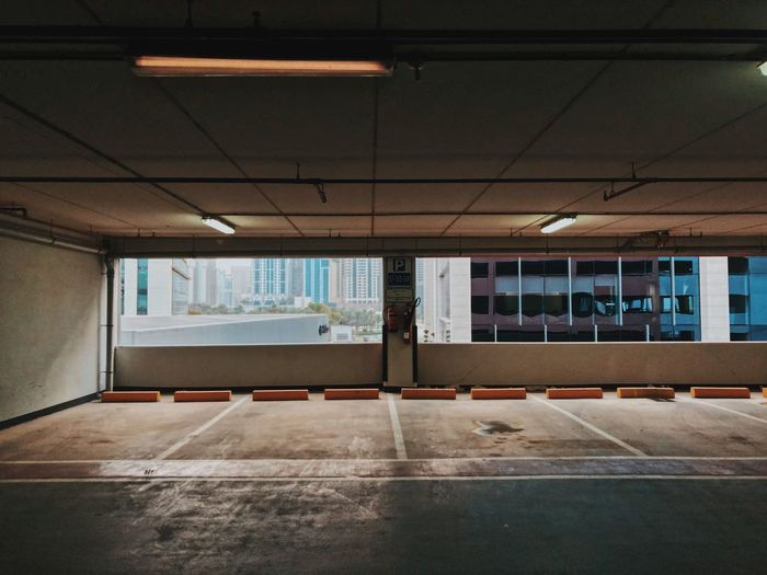 Architecture Built Structure Indoors  Transportation One Person Day Lifestyles Window Real People Nature Ceiling Parking Lot Sport Men Incidental People Architectural Column Empty Parking Garage The Architect - 2018 EyeEm Awards