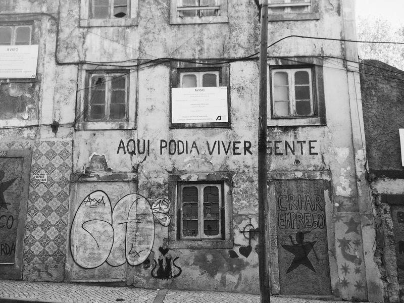 É a arte urbana que temos.