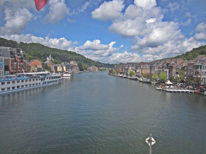 Dinant Belgium Ardennes Love - Belgium La Meuse De Maas Riverview Ships And Boats