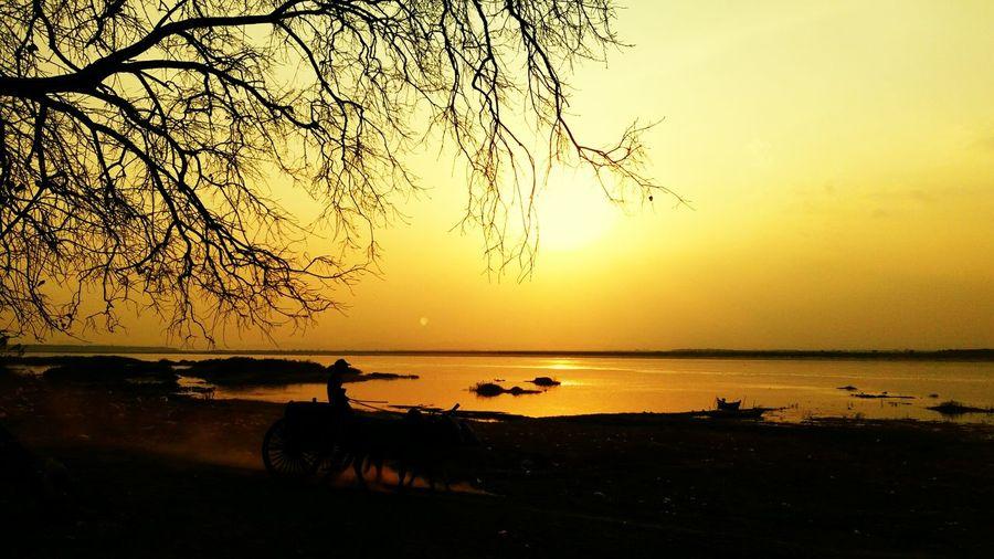 Sunset peaceful First Eyeem Photo