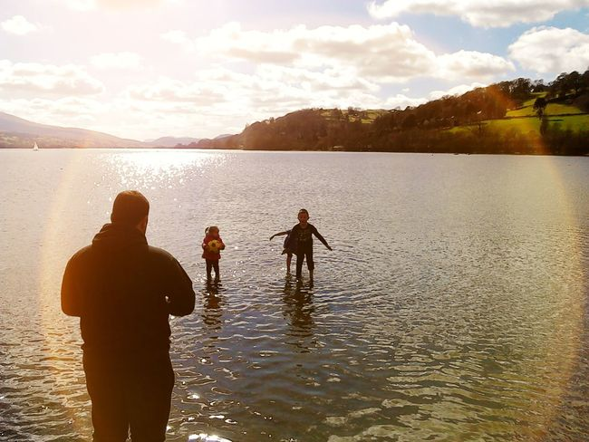 Helloworld Water Hello World Water Reflections Water_collection Hello World ✌ Sun_collection Trees Landscape Sky And Clouds Landscape_Collection Rollinghills Landscape_photography Sky Bala Bala Lake Children Children Playing Kids Kids Being Kids