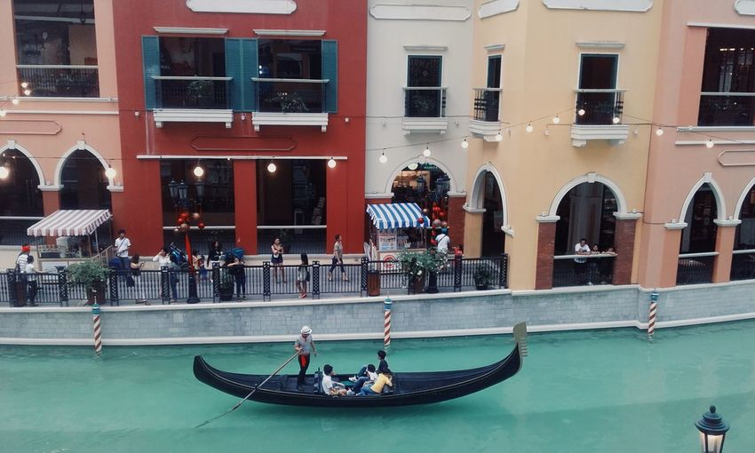 Vacations Architecture Travel Travel Destinations Water Building Exterior People Outdoors Adult Day Nautical Vessel City Adults Only Gondola - Traditional Boat Politics And Government Venice Piazza Taguig Philippines