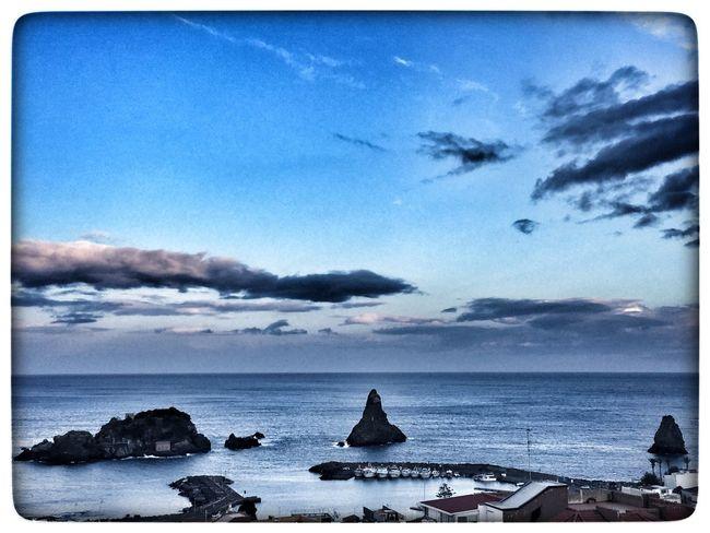 Water Sea Sky Auto Post Production Filter Cloud - Sky Nature Blue