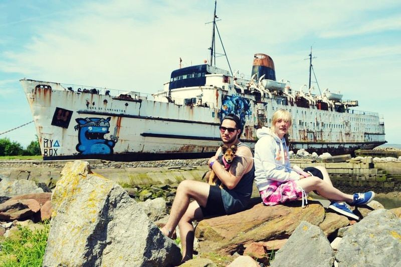 We Are Family Check This Out My Boyfriend ❤ Seaside Shipwreck Travel Photography Starting Out Style