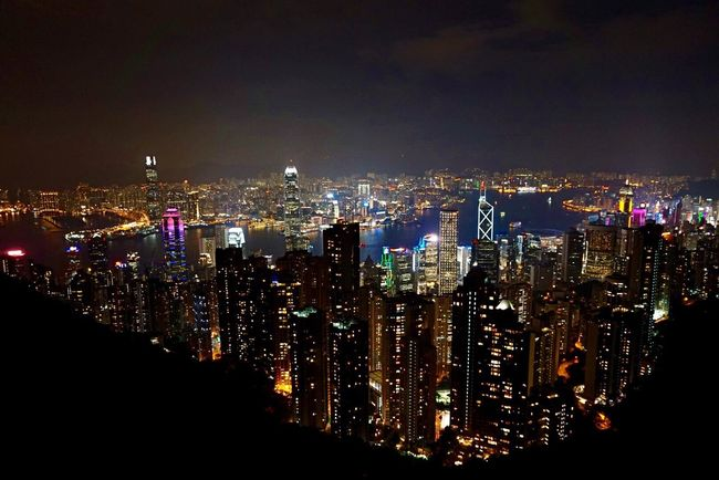 Hello World Hello Hong Kong The Peak Cityscape Architecture Night Skyscraper City Urban Skyline Downtown District Travel Destinations Hong Kong City Taking Pictures Click Click 📷📷📷 Enjoying Life Lights Citylights Beautiful View Hello Asia Nightphotography Colorful Hello China Been There.