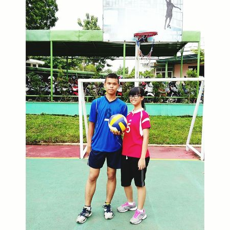 Sama kang yunus✌Check This Out Taking Photos Enjoying Life Cheese! Take It Relaxing Sport Time Sports Photography Sport Style Volleyball Team Volleyball Is LIFE Volleyball Tournament Rimbamadyaseniorhighschool Bogor, Indonesia