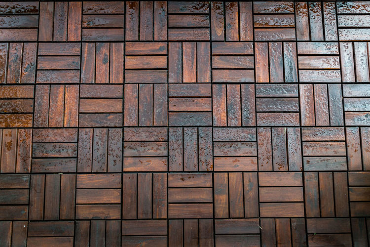 IKEA Architecture Backgrounds Close-up Day Decking Decking Wood Full Frame No People Outdoors Pattern Textured  Tiles Wood - Material Wooden Floor