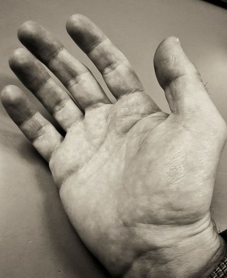 """I refuse to accept the view that mankind is so tragically bound to the starless midnight of racism and war that the bright daybreak of peace and brotherhood can never become a reality... I believe that unarmed truth and unconditional love will have the final word."" -Martin Luther King, Jr. Human Hand Human Body Part One Person Close-up Human Finger Adult Palm People Blackandwhite DaveyBlackheart Strength Deep Thoughts Stop Racism Peace Human Skin Love Life Stop War Love One Another Join Hands Fight For Peace Peacful Future Who Will Join Me?"