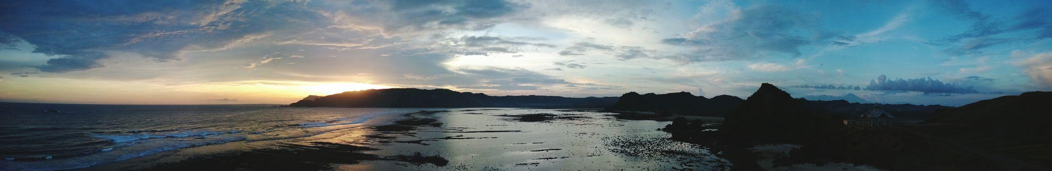 Travel Sea Beach Sunset INDONESIA Panoramashot