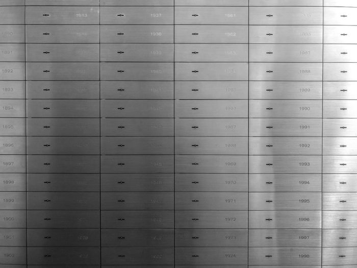 Full frame shot of lockers