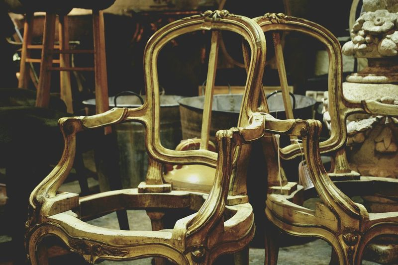 Chairs.... Sculpture Cultures Chair Luxury No People Seat Indoors  Antique Mercantic Antiques Antiques Market Antiques Photography Retro Styled Old-fashioned Wood Oldchairs Oldchair Chair Wood Chairswithstories Chair EyeEmNewHere