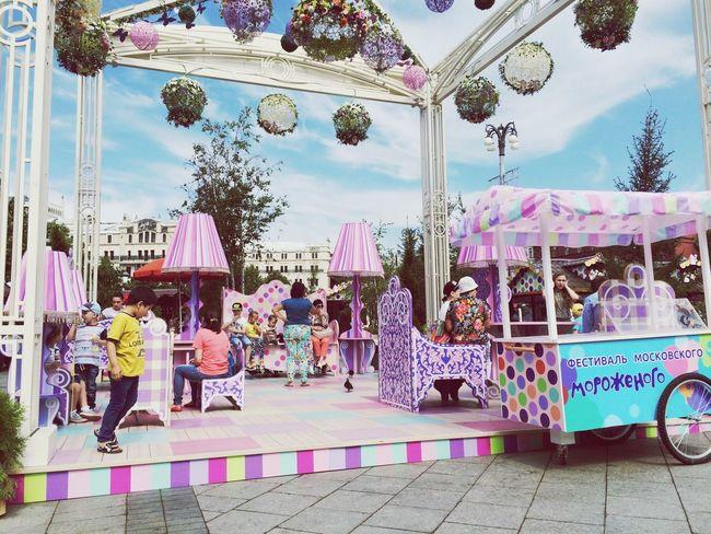 Фестиваль мороженного в Москве🍦🍧🍨 фестиваль фестивальмороженногоМосква Moscow краснаяплощадь First Eyeem Photo
