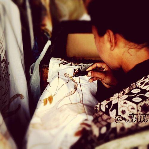 Batik painting Traditional Batik Indonesia Traditional Canon EOS M Bali
