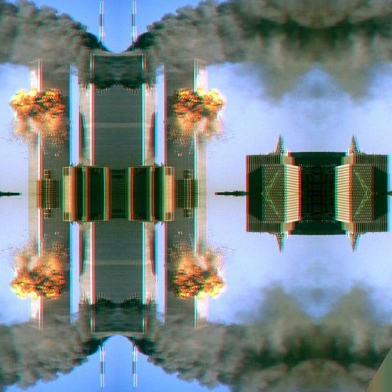 Built Structure Architecture Mountain Outdoors Day Cloud - Sky Sky Tranquility No People Scenics 11/09 Skyskraper Bomb Rip Glitch Glitchart Glitcheapp Glitchartistscollective Glitchmagazine Glitch4ndroid GlitchEffect