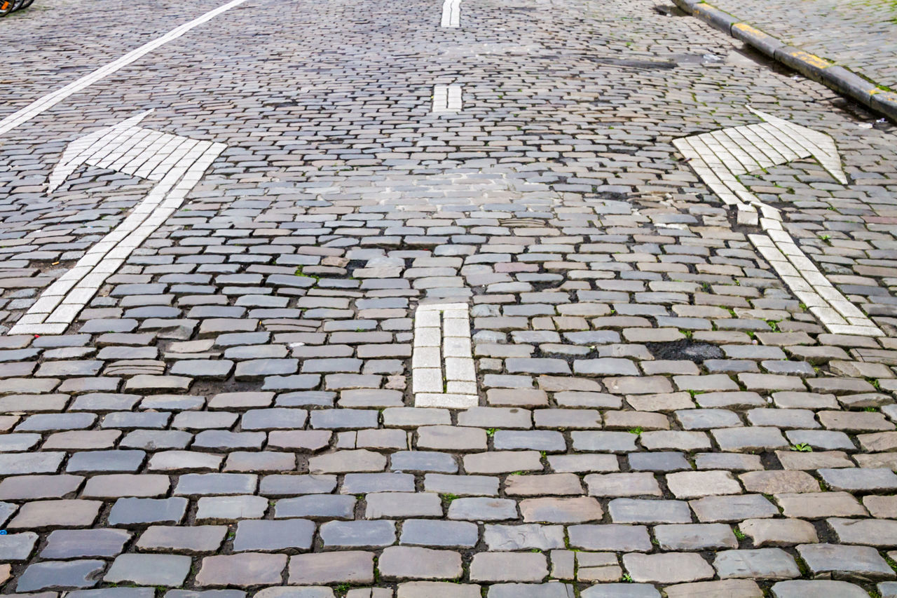 cobblestone, pattern, full frame, no people, backgrounds, day, outdoors