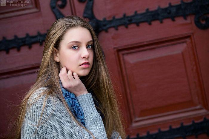 The Junior Teen Model Portrait Model Shoot Popular Photo Color Portrait Pretty Girl Beautiful Beautiful Girl Modeling Model