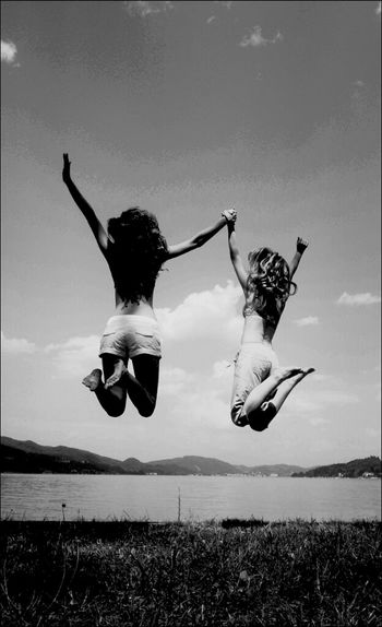 Jumping Memories Stopping Time