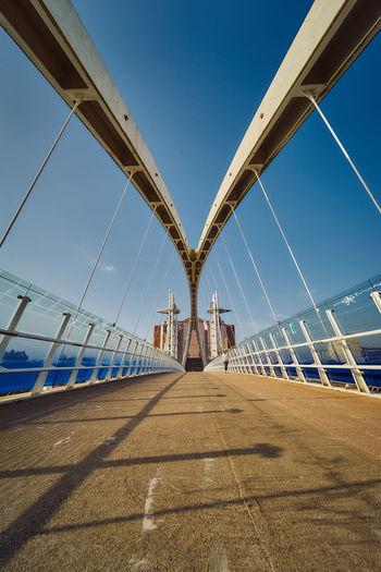 View of the bridge against sky
