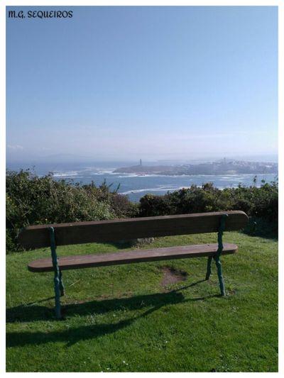 Para min, o mellor banco do mundo Coruña Banco Best Moment Perfect Photography Photography Photographer