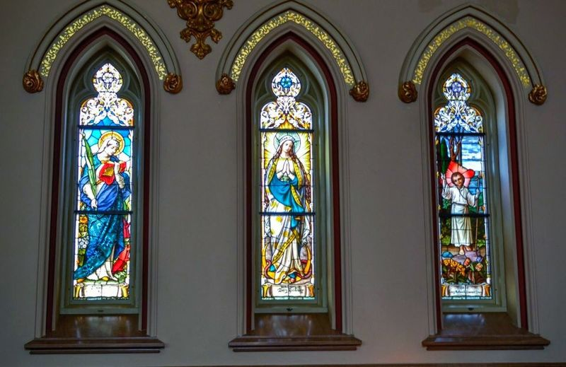 St. John The Baptist Cathedral Savannah Savannah Cathedral Church Stained Glass