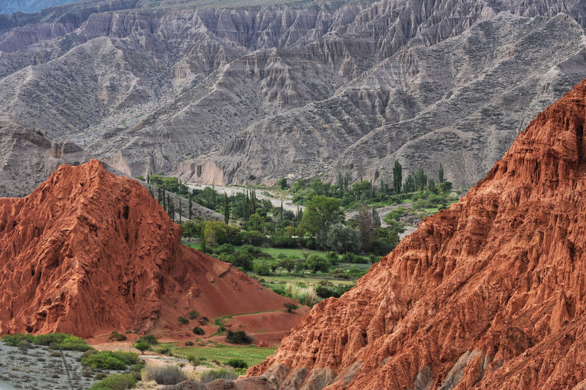 Andes Nature UNESCO World Heritage Site Argentina Cerro 7 Colores Day Jujuy Mountains Oasis Outdoors Purmamarca Scenics