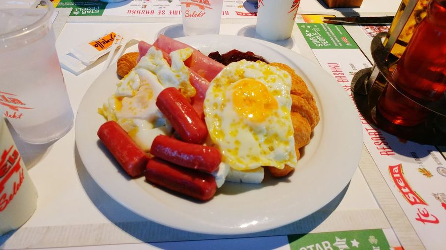 Tirana Stela Hotel Meal