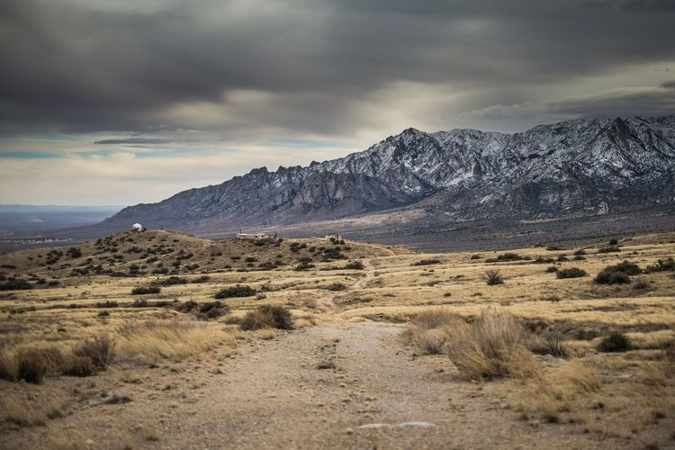 Organmountains Newmexico Landscape Sky Nature Beauty In Nature Mountain Cloud - Sky Scenics Tranquil Scene No People Mountain Range Tranquility Outdoors