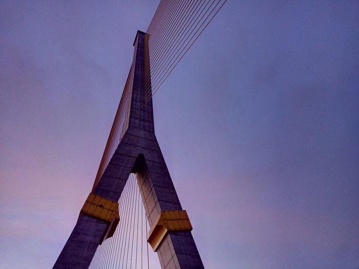 Bridge Bridges Thai Thailand 8 Rama8 Rama8bridge Rama8 BriDGE Morning Morning Sky Building Crossing The Bridge Bridge View