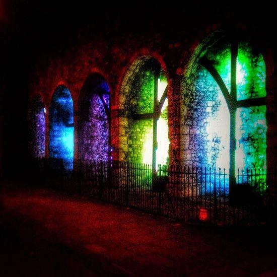 Illuminated Architecture Multi Colored No People EyeEmNewHere Outdoors Southampton Docks