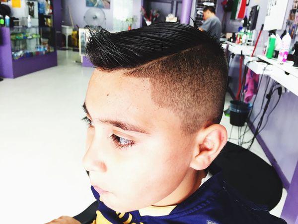 RonyBlack Barbershop Barberlife Kidshairstyle Combover