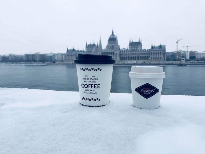 February Winter Snow Chill Parlament Budapest Coffee Architecture Built Structure Building Exterior Water Sky City Nature No People River Travel Destinations Day Communication Outdoors Building Cold Temperature Travel Tourism 10