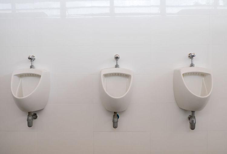 Bath Restroom Toilet Bathroom Clean Empty Interior Men
