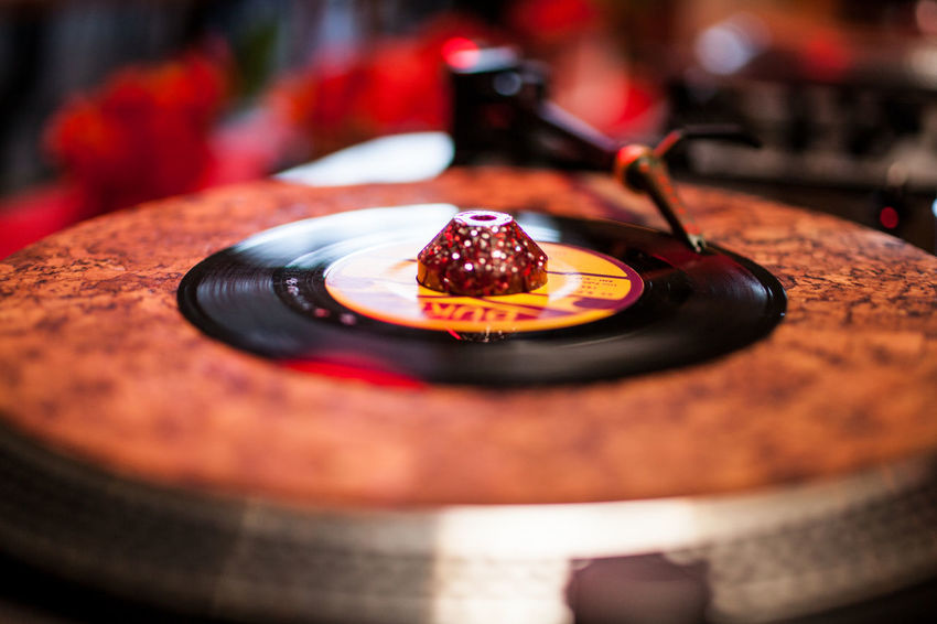 Antique Arts Culture And Entertainment Audio Equipment Close-up Focus On Foreground Food Food And Drink Indoors  Music Musical Equipment Musical Instrument Nightlife No People Plate Record Retro Styled Selective Focus Still Life Technology Turntable
