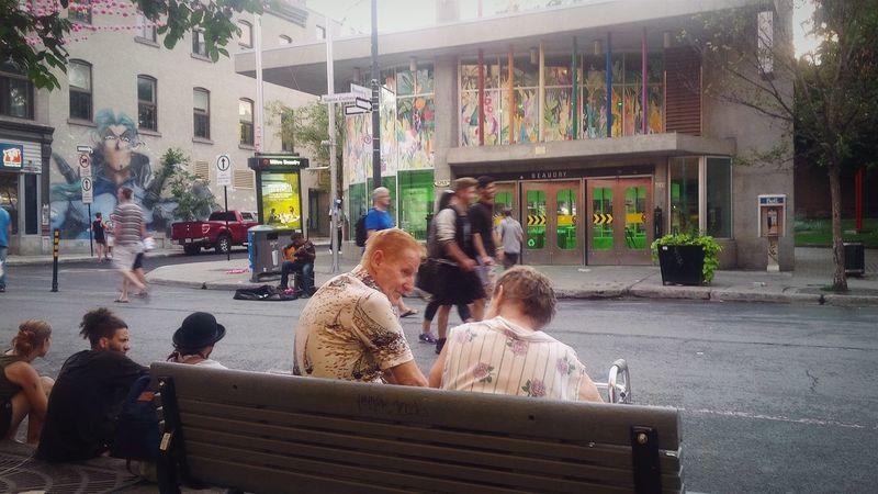 Oldcouple Guitar Love Amour ❤ Time الحب EyeEm Best Shots Faces Of Summer Enjoying Life Street Life