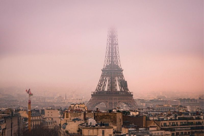 France Paris Eiffel Tower Tour Eiffel Architecture Built Structure City Travel Destinations Building Exterior Tower Tall - High