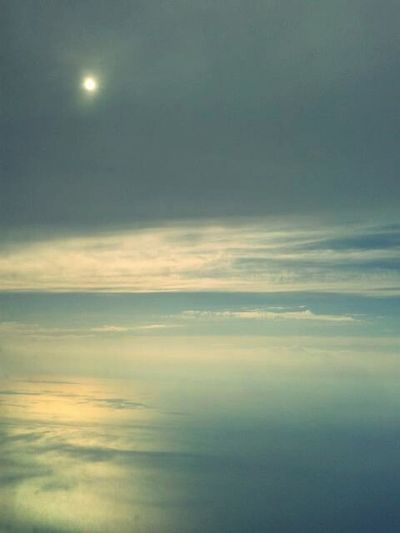 Sky Sea Clouds Viewfromtheplane