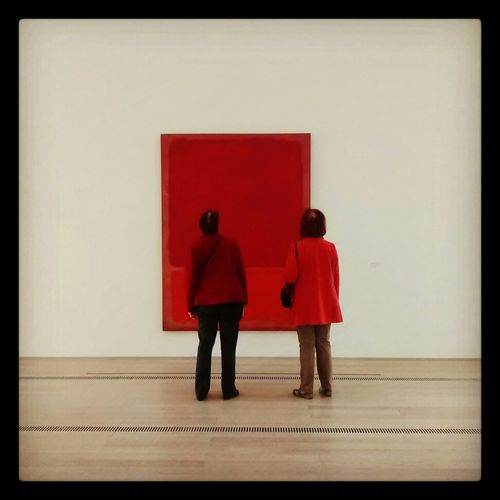 Ladies In Red Foundationbeyerle Mark Rothko Rot