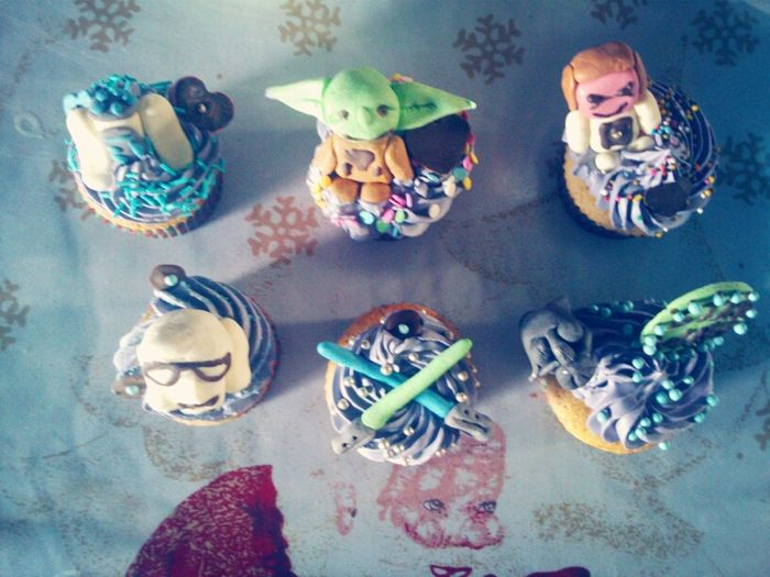 Cupcake Cupcakes Times Star Wars