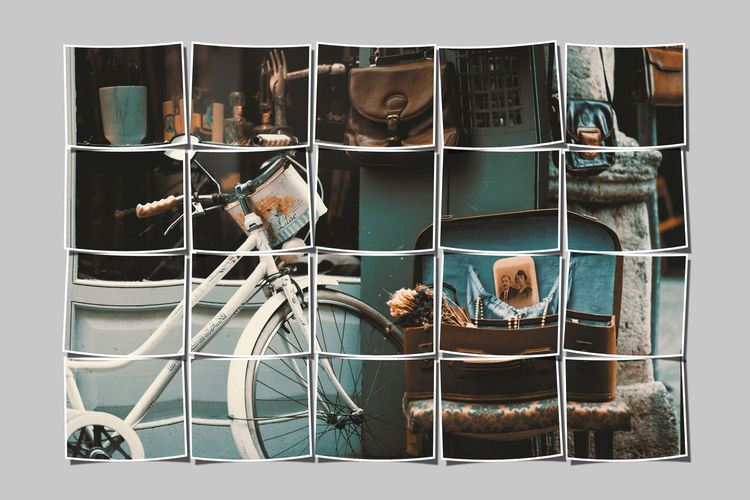 Men Human Representation One Person Real People Glass - Material Transfer Print Representation Occupation Outdoors Auto Post Production Filter Transparent Technology Transportation Communication Digital Composite Male Likeness Mature Men Business Bicycle Rack Bicycle