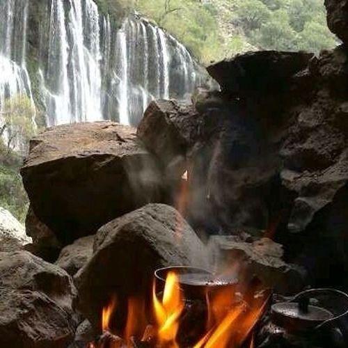 Beshe waterfall