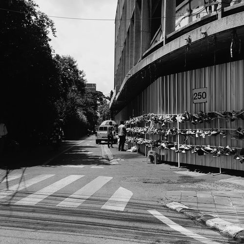 Streetphotography Road Outdoors Architecture Building Exterior Modern Building Bankgkok City Adult Sky People Day Bridge - Man Made Structure Built Structure Transportation Tree Adults Only