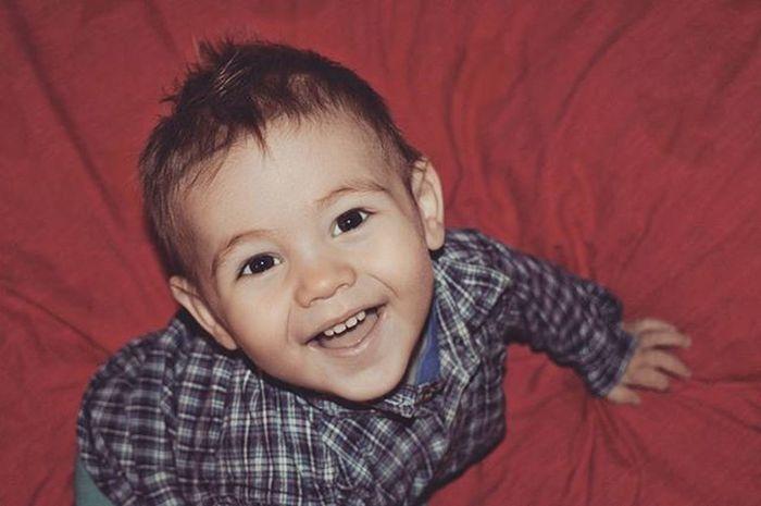 Мишке 1,5 года, он счастлив и мы тоже😊 Миша сын  18 Michael Sonny Smile Lucky Boy Baby Babyboy .