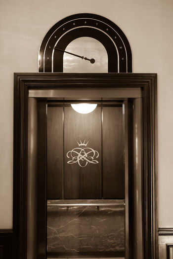 History can be found in even within a hop to your room via the elevator at the Historic Chase Park Plaza in Saint Louis, Missouri. Elevator Luxury Hotel Chase Park Plaza Elevator Open Historic Historic Hotel Sepia Two Tone